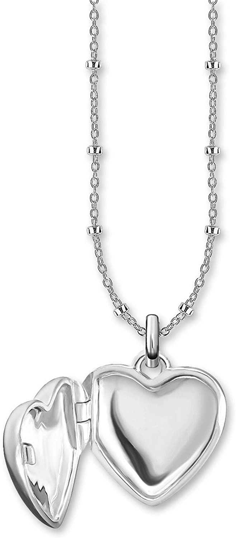 Thomas Sabo Collar con colgante Mujer plata - D_KE0035-356-14-L45v