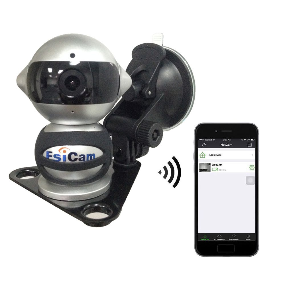 Esicam Robot Wireless Camera For Smart Phone Hd Two