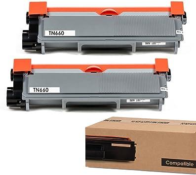 TN660 For Brother Black Toner Cartridge High Yield  MFC-L2740DW L2700DW Printer