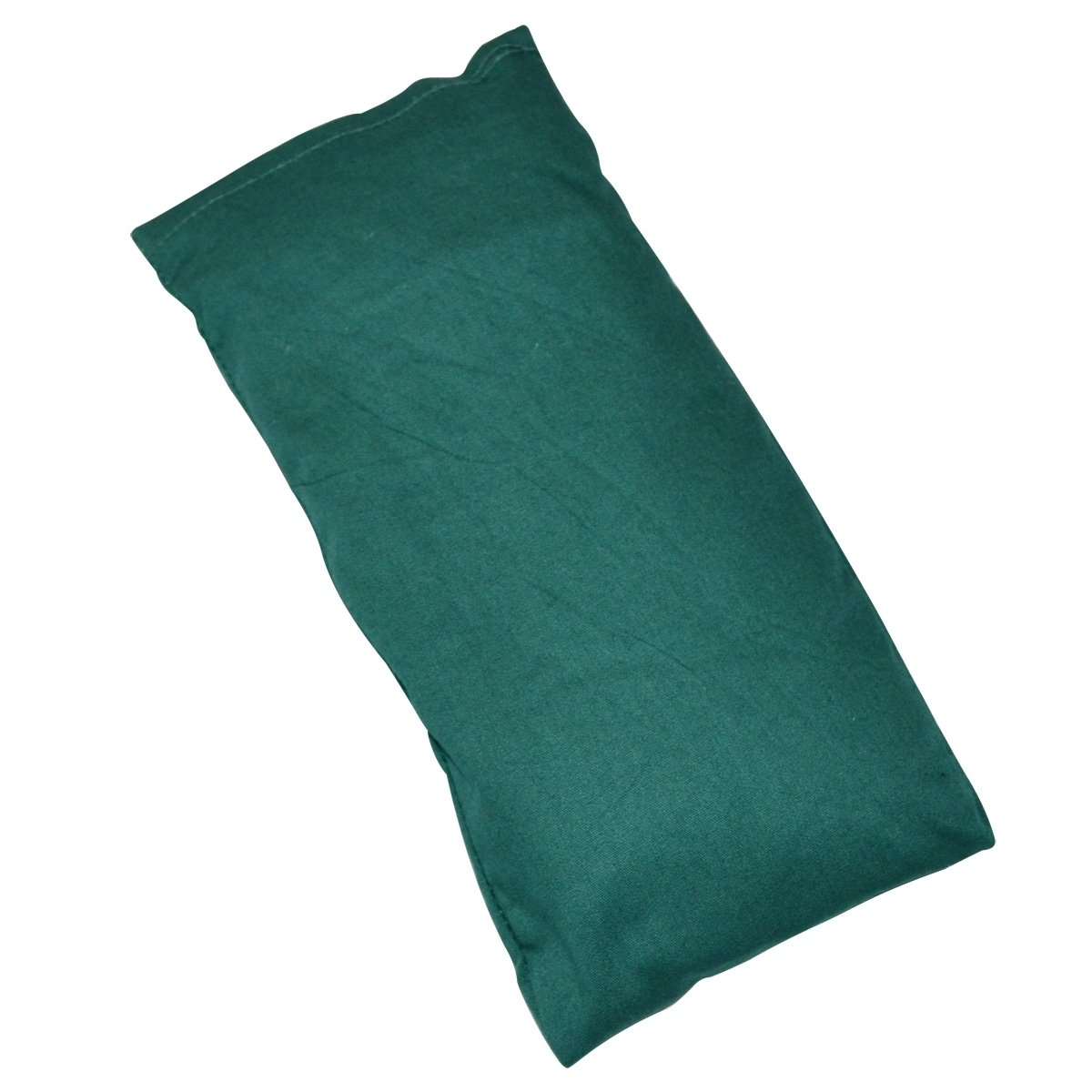 Yoga Direct Cotton Lavender-Scented Eye Pillow, Green by Yoga Direct