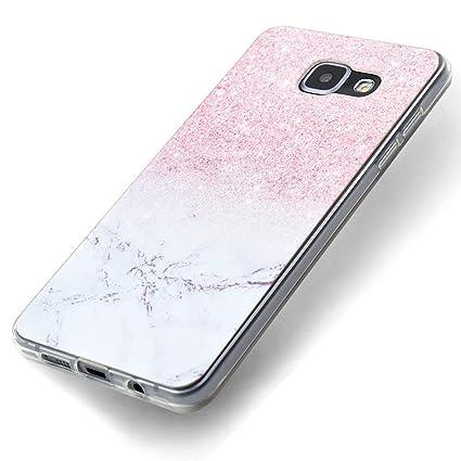 Funda Samsung Galaxy A5 2016, Carcasa Samsung A510 Teléfono Caso Cubrir Transparente, Ultrafina Rigida Anti-rasguñe Anti Choques Anti-Arañazos Funda, ...