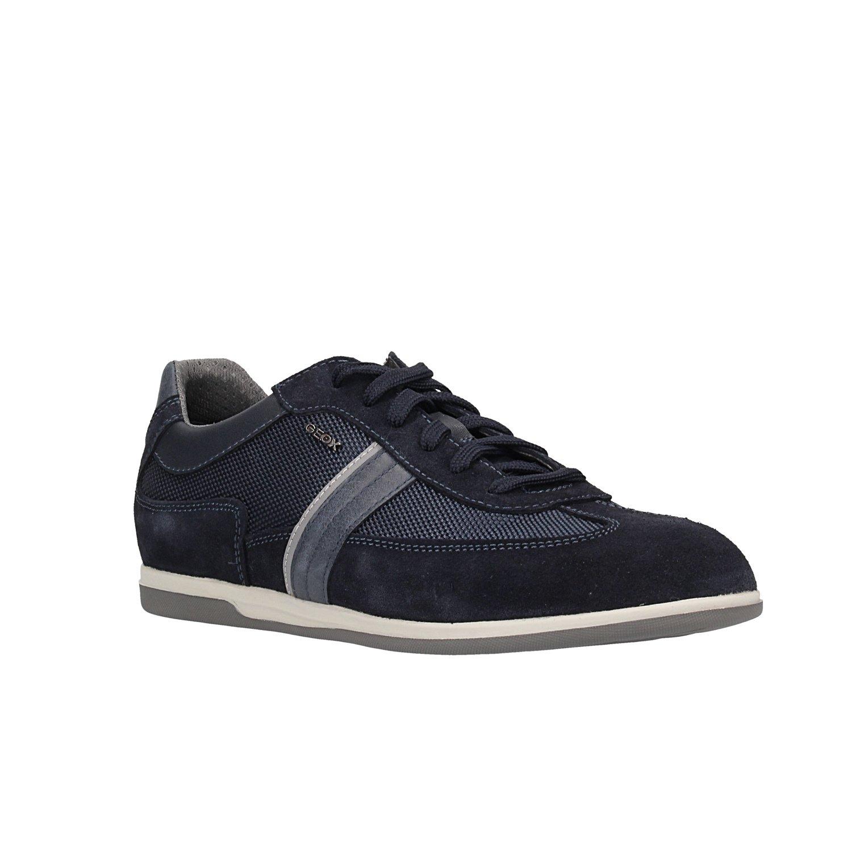 Geox U Renan C, Zapatillas para Hombre 41 EU|Azul (Navy C4002)