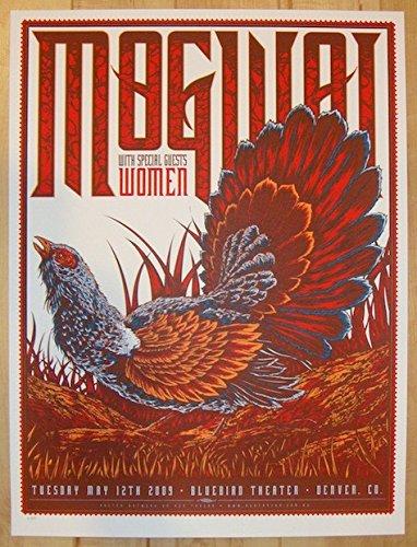 2009 Mogwai - Denver Silkscreen Concert Poster by Ken Taylor