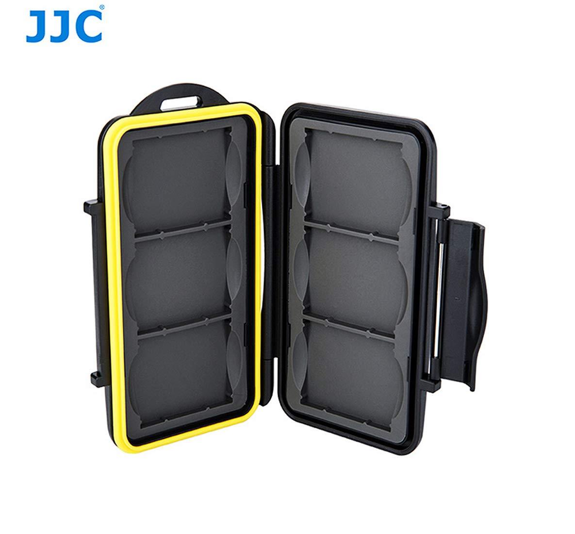 JJC - Custodia per schede di memoria (impermeabile), fino a 6 CompactFlash