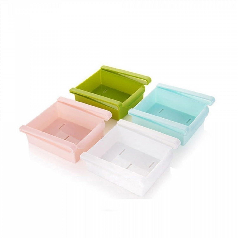 Youarebb cucina frigorifero portatile Container Holder Storage box (verde), 1, ピンク, 1 ピンク