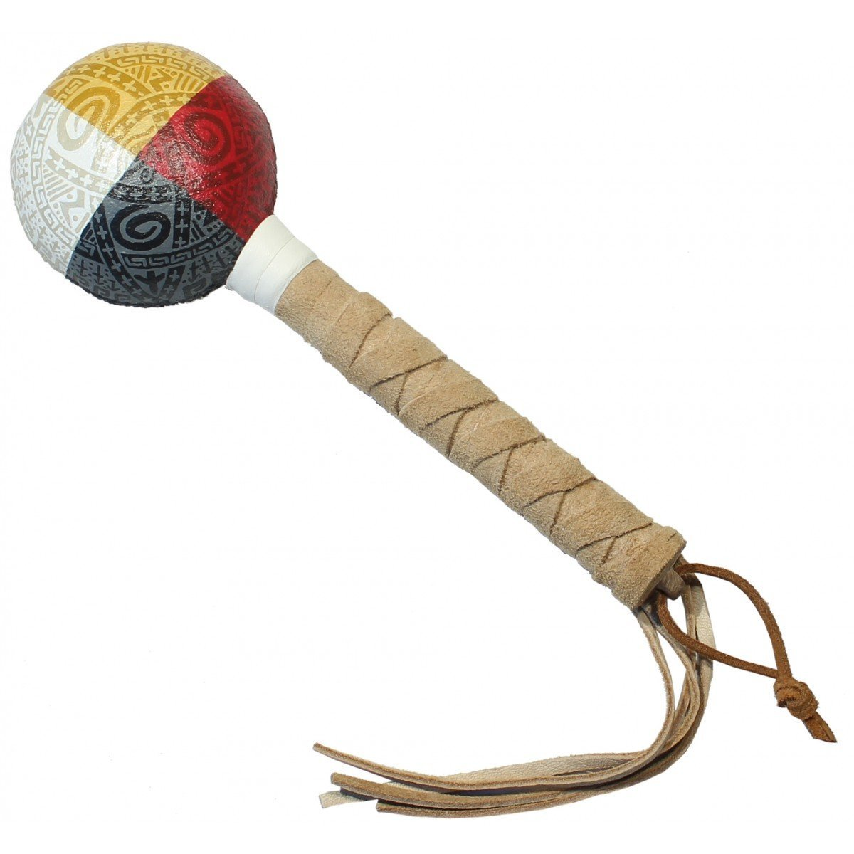 Native American Symbols of Protection Rattle