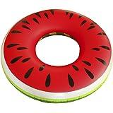 Schwimmring Wassermelone Ø125cm Schwimmreifen Melone Luftmatratze Reifen #3517
