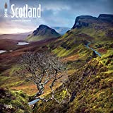 Scotland 2018 12 x 12 Inch Monthly Square Wall Calendar, UK United Kingdom Scenic (Multilingual Edition)