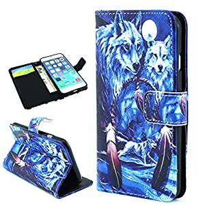 iPhone 6 Case -Ezydigital iPhone 6 4.7 Case [Card, Cash and ID Holder] - PU Leather Wallet Flip Cover Case for iPhone 6 (4.7-inch)