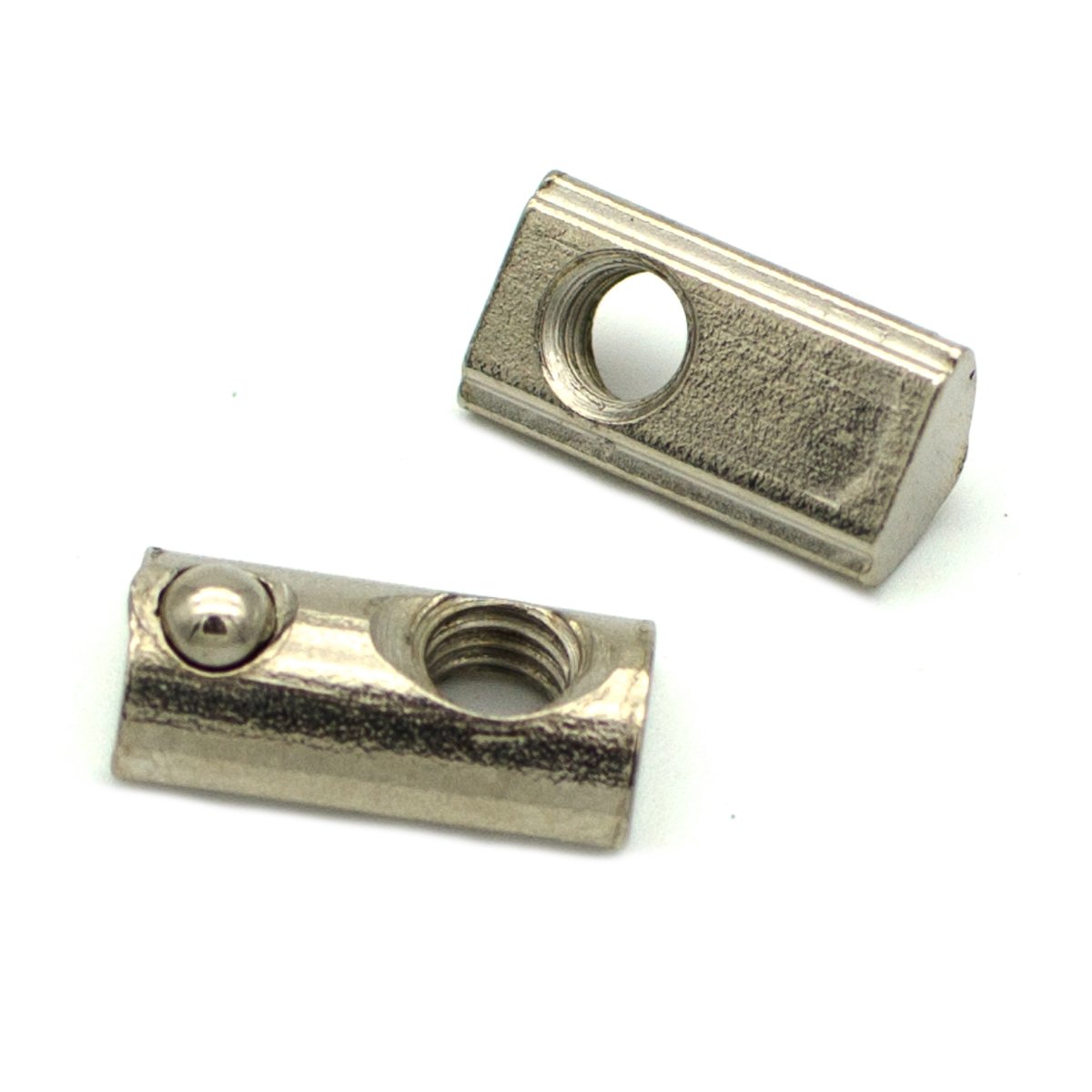 Roll in Spring Loaded T Nut for 20mm Series Aluminum Extrusions Pack of 50 (M5) by TOPINSTOCK (Image #1)