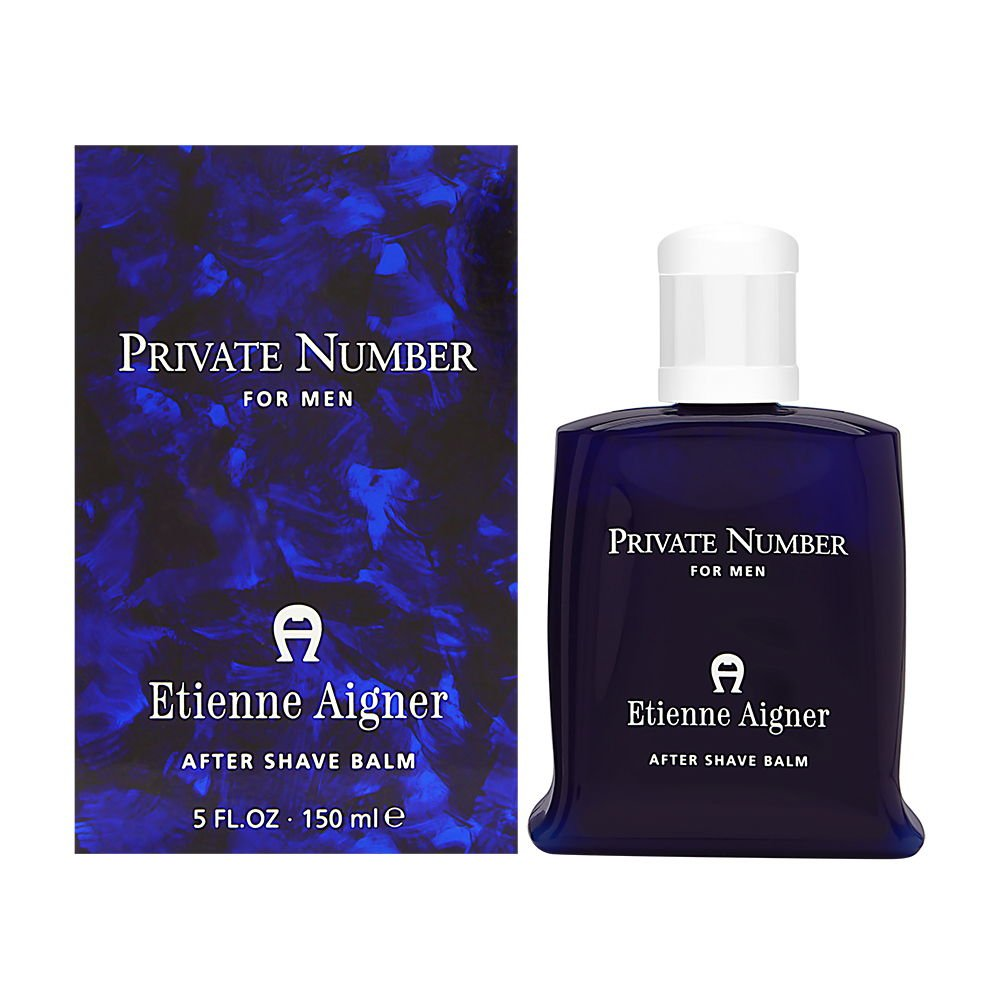 Private Number by Etienne Aigner for Men 5.0 oz After Shave Balm 791144442060