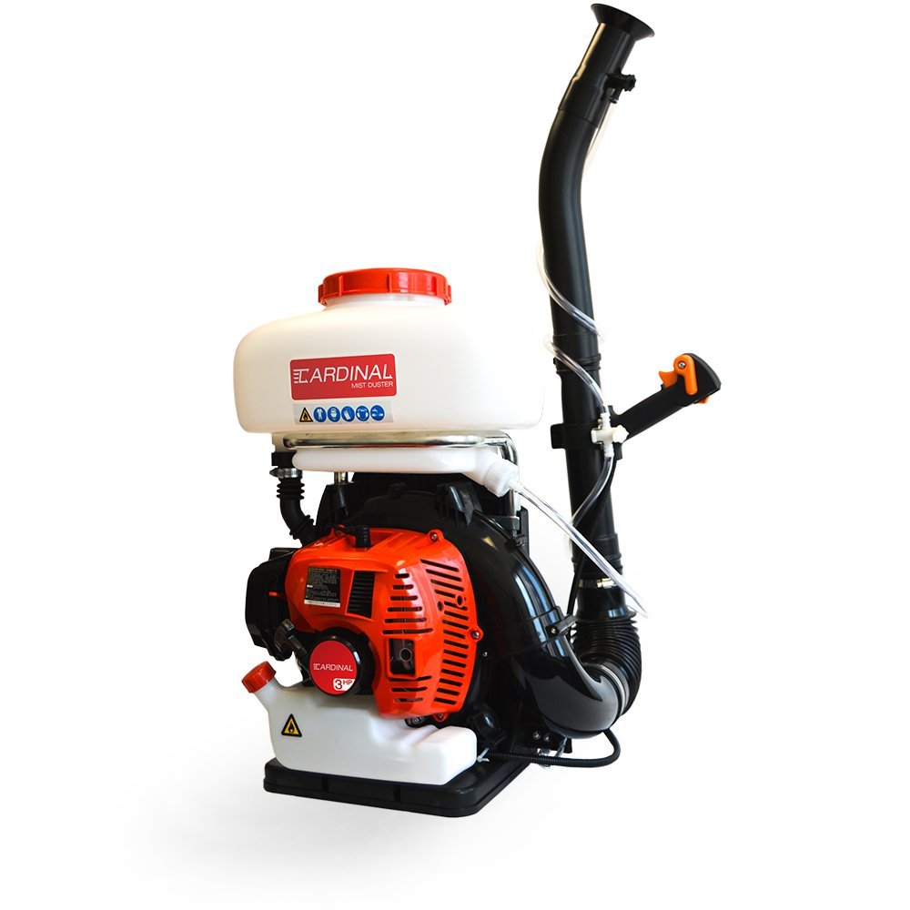 3HP Backpack Mistduster Fogger Blower 3-in-1 Sprayer with 3.5 Gal Chemical Tank for Pest Control