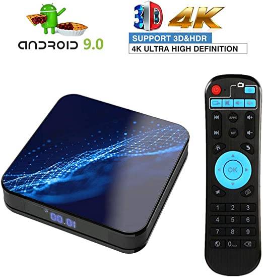 LTLZCY 9.0 TV Box [2GB RAM+16GB ROM] Android TV Box -RK3318 Quad-Core 64-bit Arm Cortex-A53 Soporte 4K, 2.4Ghz/5Ghz Dual WiFi, USB 3.0 3D BT4.0 Smart TV Box,2+16g,USPlug: Amazon.es: Hogar