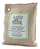 Moso Natural Air Purifying Bag 200 Gram Natural Color, 4 Pack Color: Natural Model: