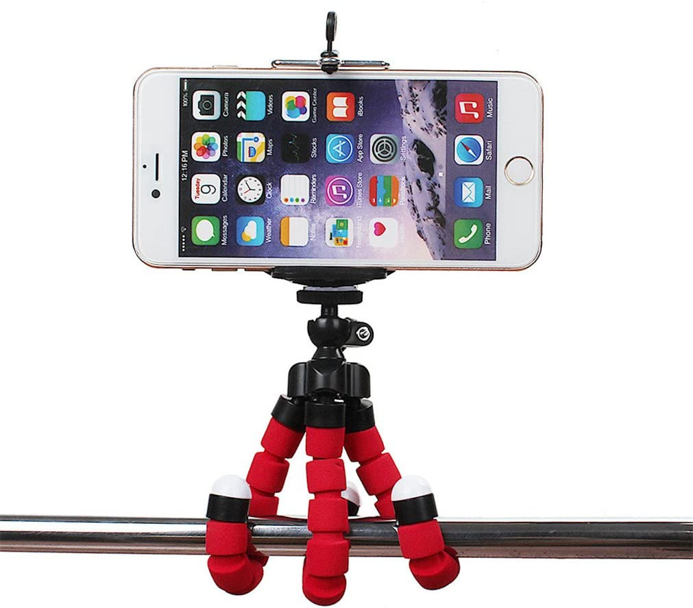 Flexible Mini Phone Tripod Stand,Heyqie(TM) Lightweight Octopus ...