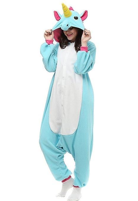b79cebc785 Kenmont Unicornio Juguetes y Juegos Animal Ropa de Dormir Cosplay Disfraces Pijamas  para Adulto Niños (