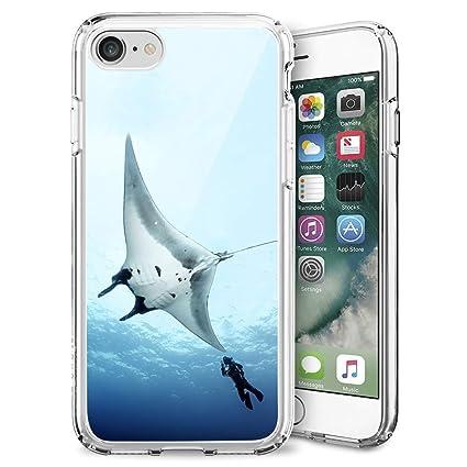 Amazon.com: MooreDickey - Carcasa para iPhone 7 8, flexible ...