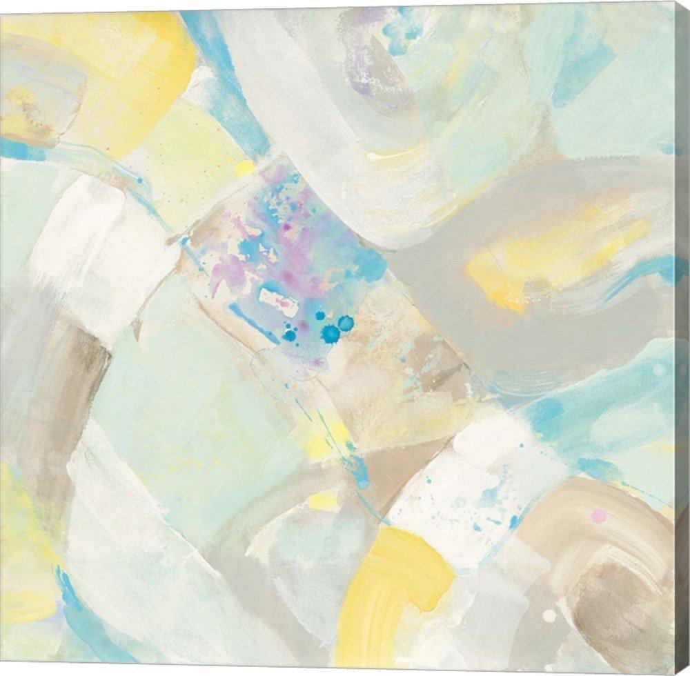 White Rock I by Albena Hristova Canvas Art Wall Picture, Gallery Wrap, 37 x 37 inches