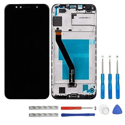 Amazon.com: Swark - Pantalla LCD compatible con Huawei Y6 ...