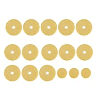 Dilwe 16 Pcs Flute Pads, Flute Pads Set Replacement Accessories for Flutes