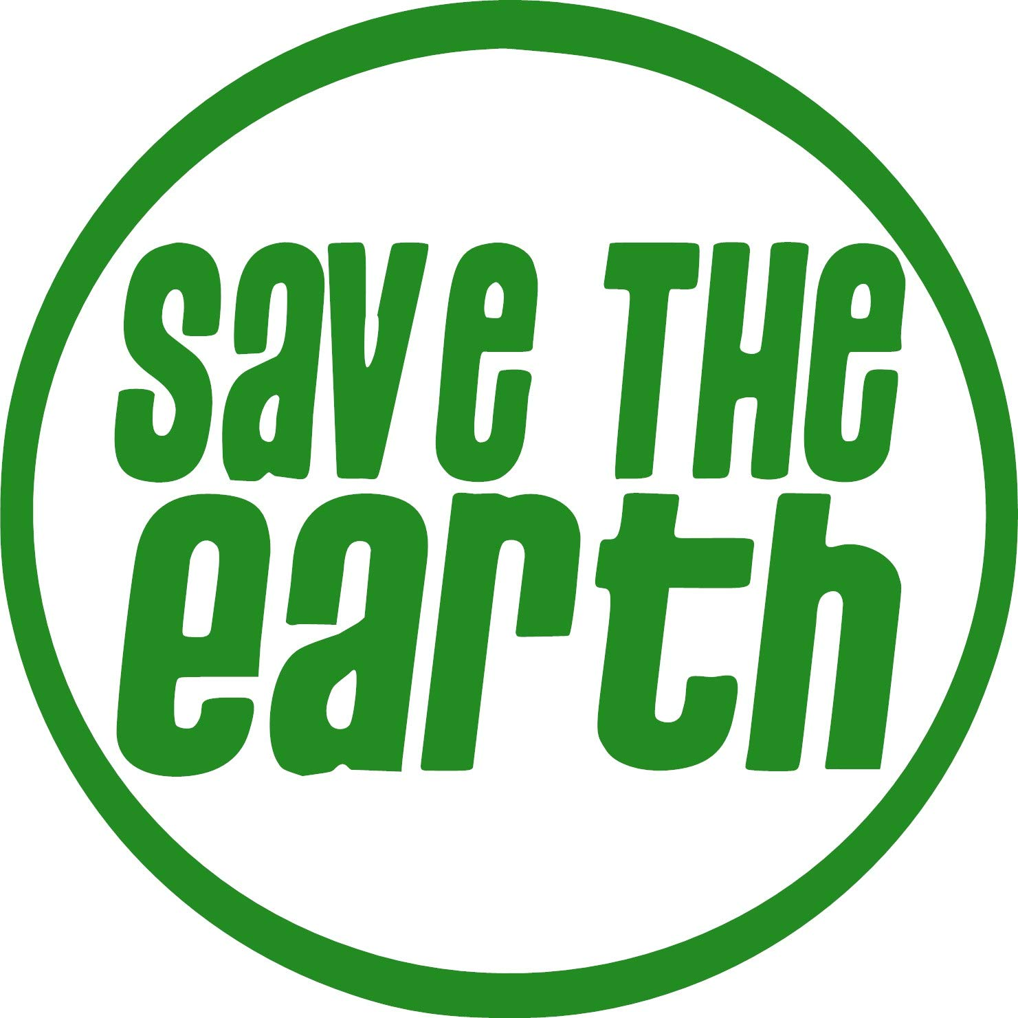 Save The Earth Vinyl Sticker