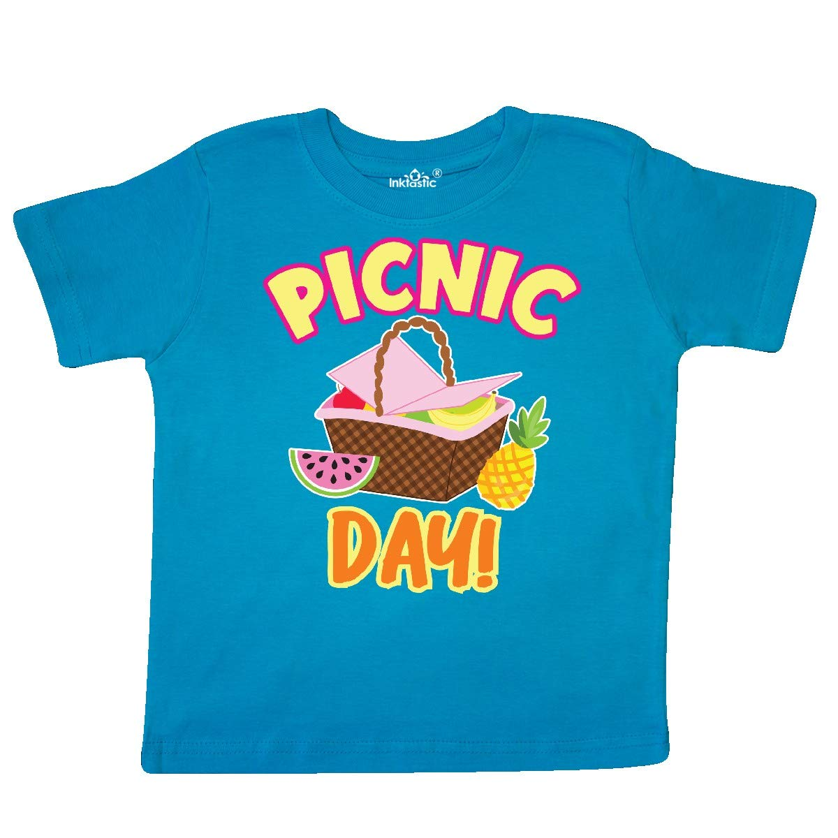 inktastic Picnic Day with Basket and Fruit Toddler T-Shirt