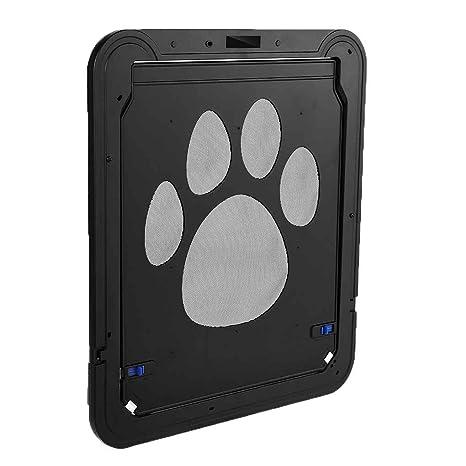 muluo mascota perro gato Felis animales Doghole dog-tunnel entrada marco protector de puerta ventana