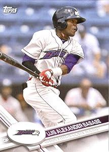 2017 Topps Pro Debut #82 Luis Alexander Basabe Winston-Salem Dash Baseball Card