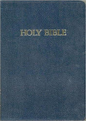 Large Print Bible-KJV-Chapel Blu: C D Stampley Enterprises