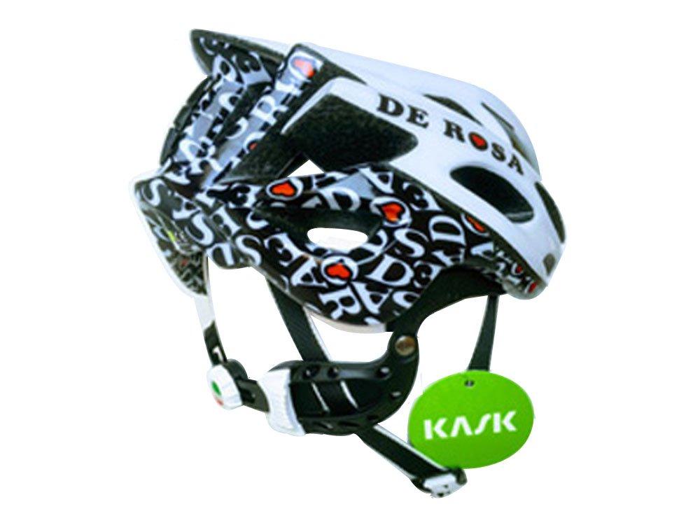 KASK(カスク) MOJITO DE ROSA REVO ロードヘルメット JAPAN LIMITED ホワイト/ブラック Small  B072MV2YTR