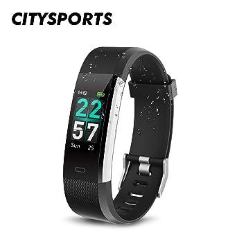 Montre Connectée, Smartwatch Etanche IP68, Bracelet connecté Écran Couleur, Fitness Tracker d