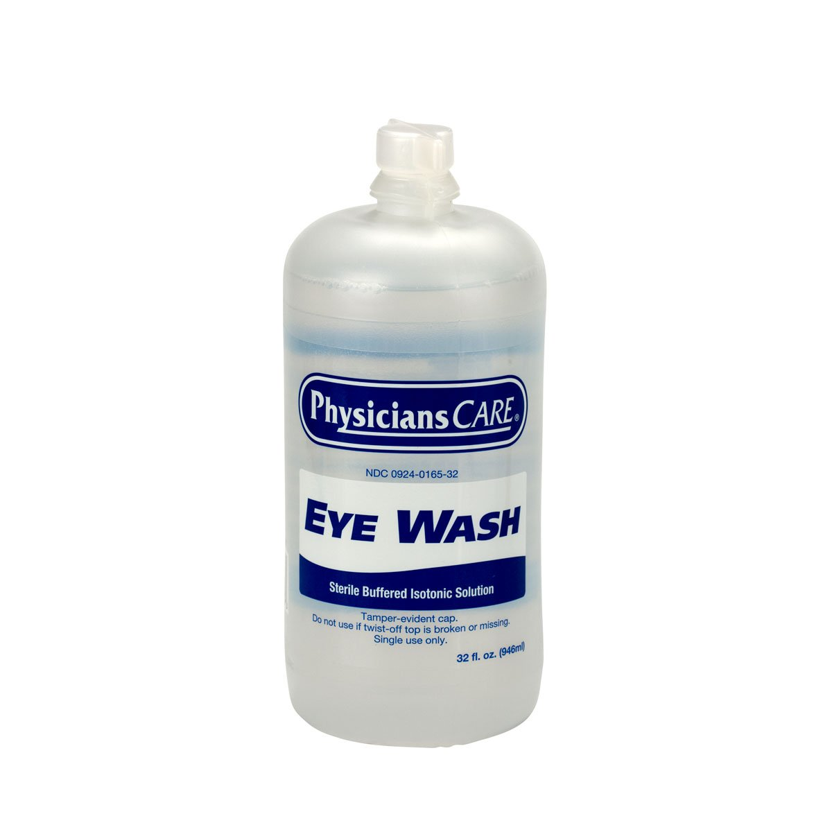 PhysiciansCare by First Aid Only 500-90547 Eyewash Bottle, 32 oz. (Pack of 12)