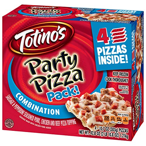 Totino's Combination Party Pizza Pack, 42.8 oz -