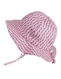 Twinklebelle Baby Toddler Kids Breathable Sun Hat 50 UPF, Adjustable for Grow,