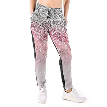 Yaitty Pantalones de chándal para Mujer, Color Oro Rosa, con ...