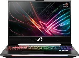 ASUS ROG Strix Hero II GL504GM-DS74 15.6in Gaming Laptop - 144Hz IPS, GeForce GTX 1060 6GB, Intel Core i7-8750H , 256GB PCIe SSD + 1TB HDD, 16GB (Renewed)
