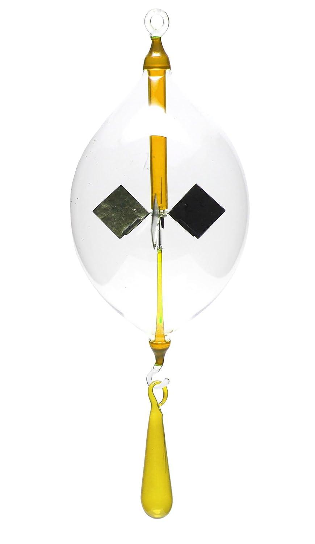 Lichtmühle Solar Radiometer Olive hängend 80mm klar Lichtmühlen von GlasXpert
