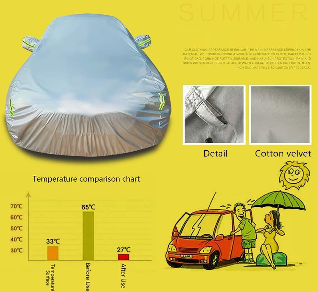 aux UV au vent Housses pour auto Couverture de voiture fonctionne avec PEUGEOT RCZ Couverture de voiture |Une couche de coton fibre /à lint/érieur |R/ésistant /à la pluie au refroidiss /à la poussi/ère