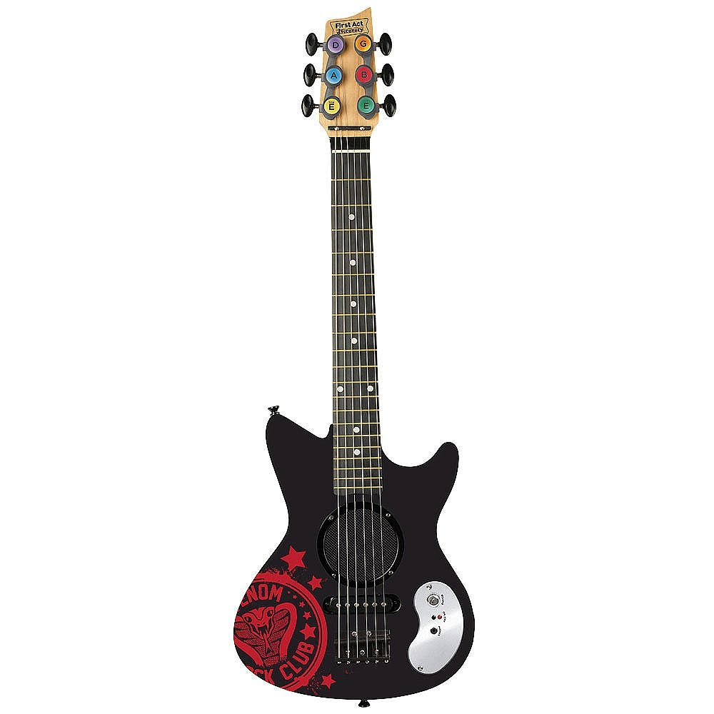 First Act Venom Rock Portable Electric Guitar