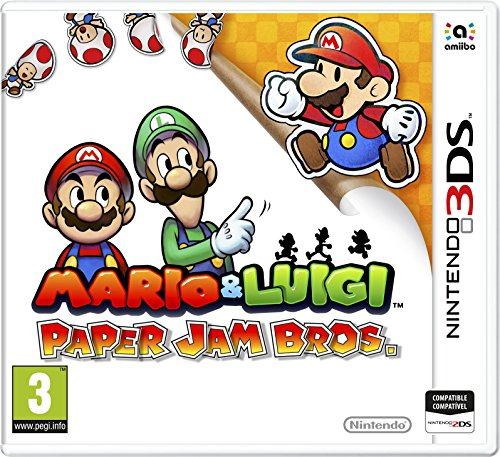 Mario Luigi Paper Jam Bros Amazon Es Videojuegos