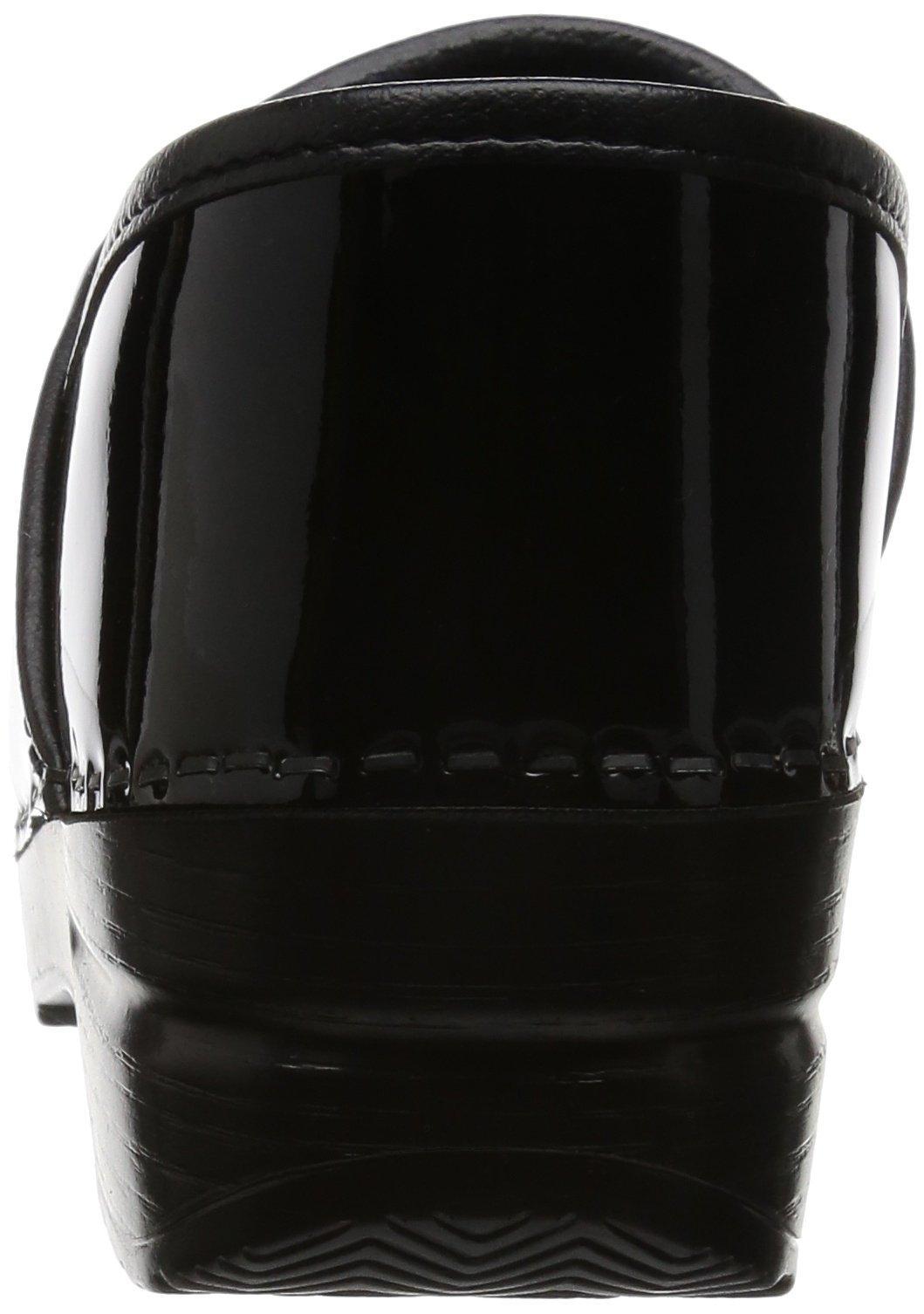 Dansko Women's Professional Patent Leather Clog,Black Patent,37 EU / 6.5-7 B(M) US by Dansko (Image #2)