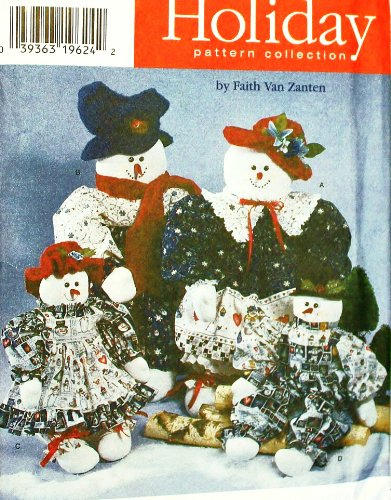 (Uncut 1996 Simplicity Christmas/holiday Craft Sewing Pattern 7399. 22