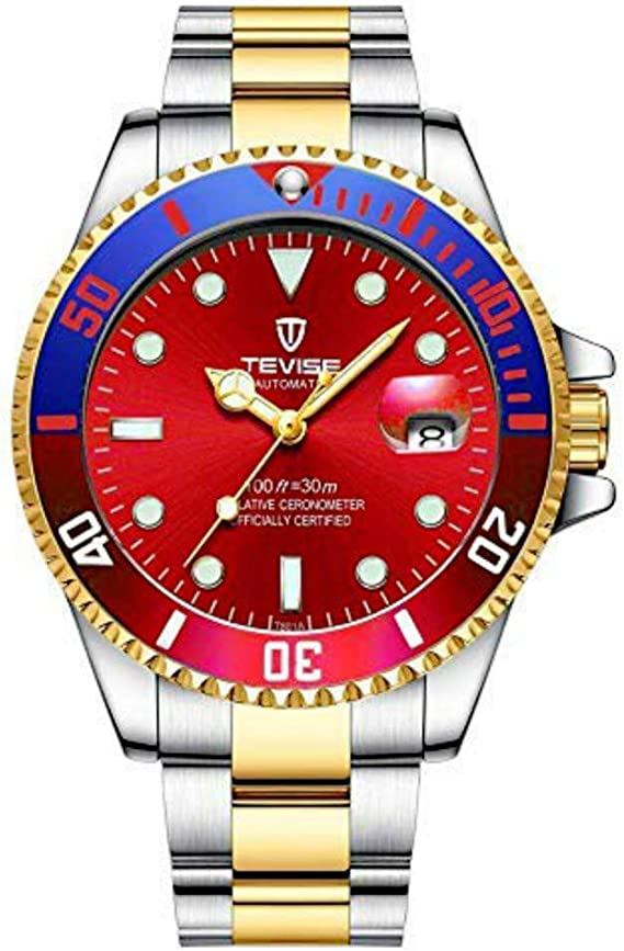 Tevise Mechanical Automatic Men Watch