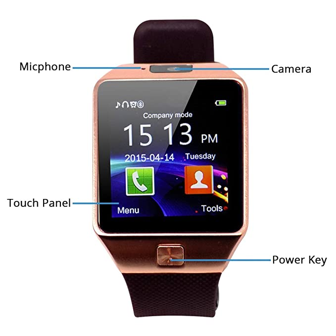Amazon.com: veme reloj inteligente Bluetooth con ...