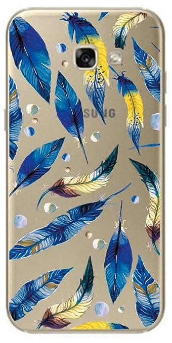 4 opinioni per Samsung Galaxy A3 2017 ( A320 ) Custodia del gel di silicone trasparente