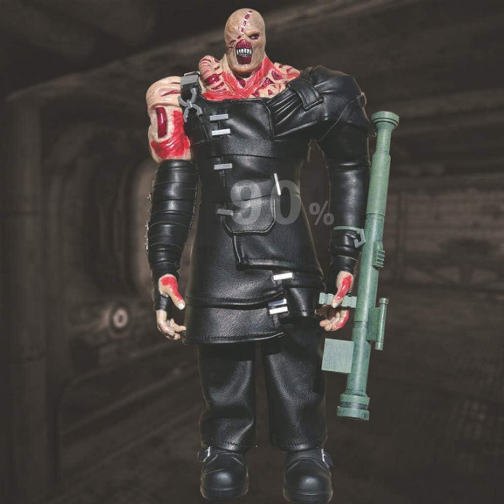 Amazon Com Cjh Resident Evil 3 Nemesis Action Figure Figma Model