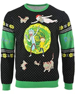 Amazoncom Ripple Junction Rick And Morty Happy Human Holiday Adult