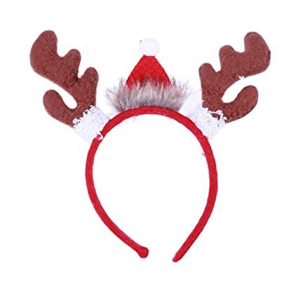 HEALIFTY Bandas de astas Fiesta de Navidad Vestido de lujo Accesorio de  novedad para adultos Fiesta 38efd7ce968
