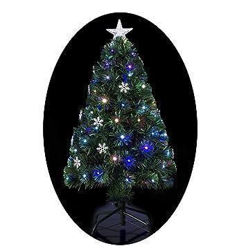 c9aeda4936fb6 FEERIC LIGHTS   CHRISTMAS Sapin de Noël Artificiel Lumineux avec Fibre  Optique à Variation de lumière