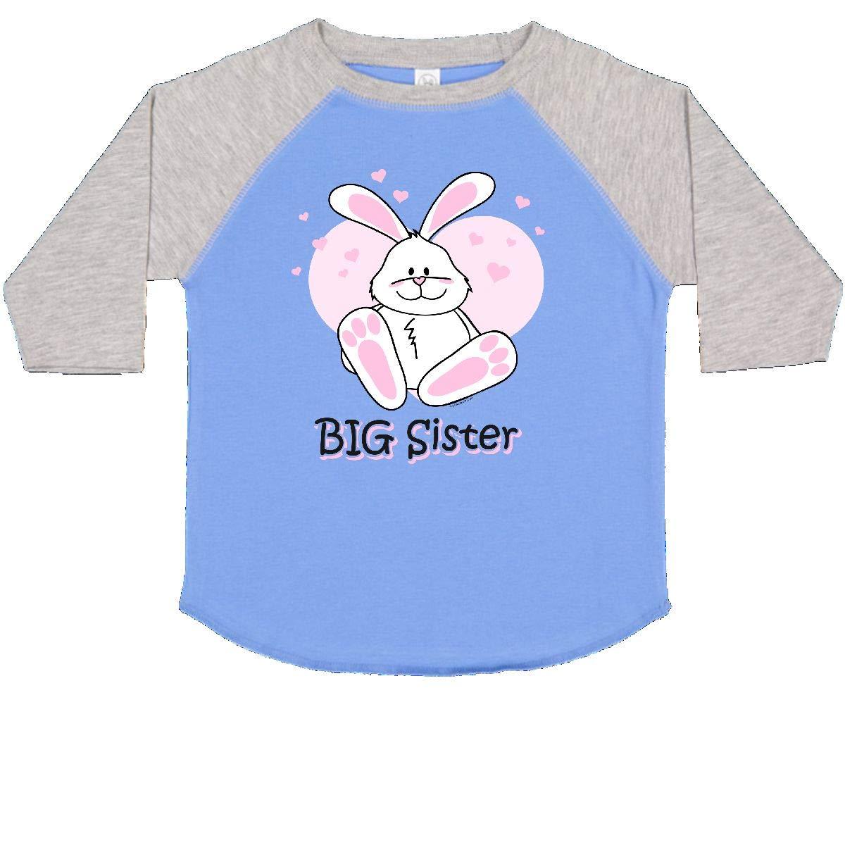 inktastic Cute Bunny Big Sister Toddler T-Shirt